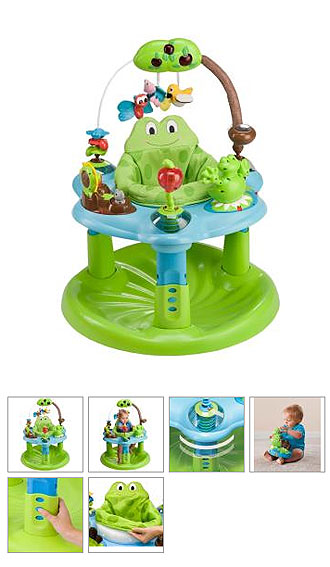 Игровой центр Evenflo ExerSaucer Jump & Learn
