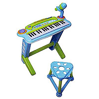 Игрушка - Potex Синтезатор с микрофоном и стулом Potex Music Spaceship, 37 клавиш, арт.602A