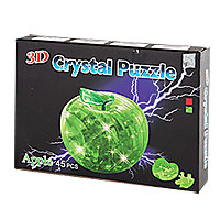 Игрушка - Shenzhen Конструктор 3D Christal Apple, 45 деталей