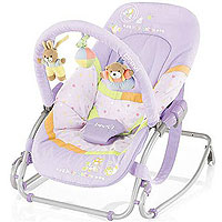 Игрушка - Brevi Шезлонг Brevi Baby Rocker Soft Toy